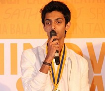Anirudh - I generally speak, but am nervous today