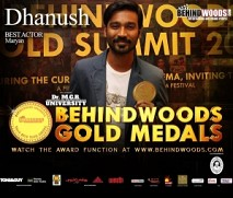 Dhanush's moment at the Behindwoods Gold Medals 2013