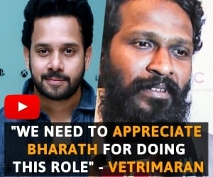 We need to appreciate Bharath for doing this role - Vetrimaran | KADUGU Premier Show | TN 44