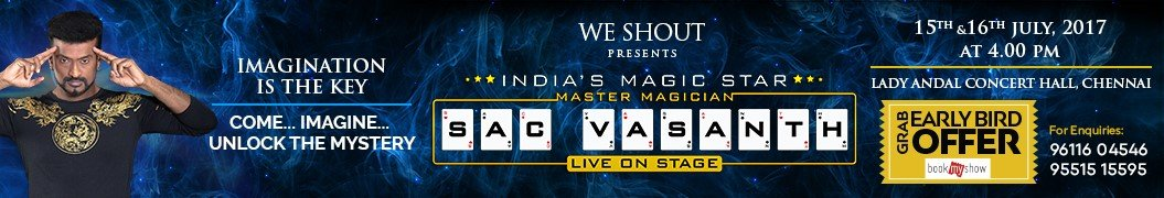 SAC Vasanth Slideshow Banner
