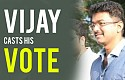 Vijay's support is for ! - Nadigar Sangam Elections