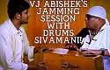 VJ Abishek's jamming session with Drums Sivamani!