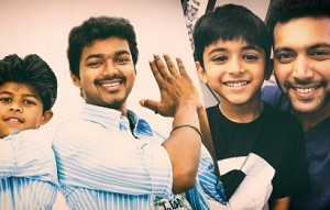 Who is introducing his Son after Vijay & Vijaysethupathi ?