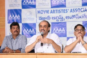 Movie Artistes Association Press Meet