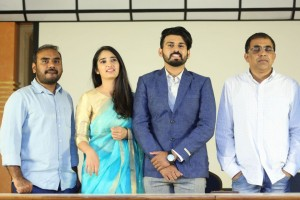 Prema Entha Madhuram Priyuraalu Antha Katinam Movie Poster Launch