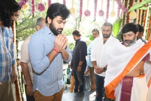 Sharwanand - Kajal Agarwal New Movie Launch
