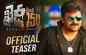 Khaidi No 150 Official Teaser