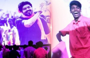 MERSAL Diwali Celebration with Thalapathy Fans @ Rohini Theatre! | Vijay
