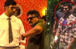On the Sets of Thupparivaalan: Vishal Spotted in Chidambaram | Shooting Spot Video
