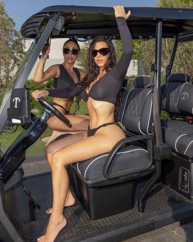 Kim Kardashian (aka) Kim