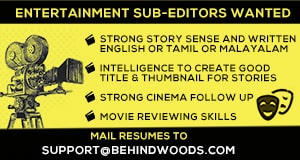 Entertainment sub editor