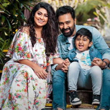 Actors Prasanna and Sneha blessed with a baby girl