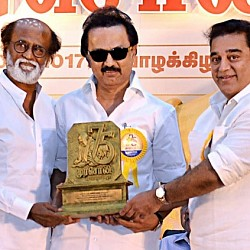 Kamal clarifies about politics and joining DMK