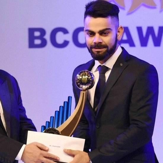 Polly Umrigar Award – Virat Kohli (2017 - 2018 season))