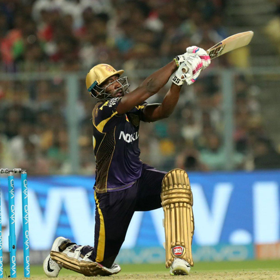 7. Andre Russell - 102 meter