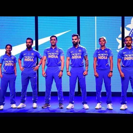 22. Indian Cricket Team Jersey 2019