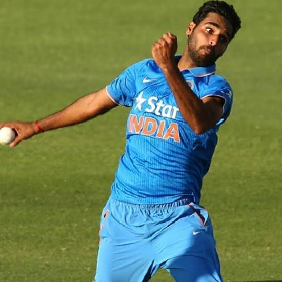 Bhuvneshwar Kumar needs to take 10 more wickets to reach 100 ODI wickets.