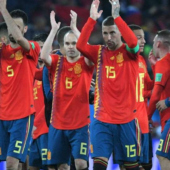 Russia vs Spain - Sunday July 1 - 3pm