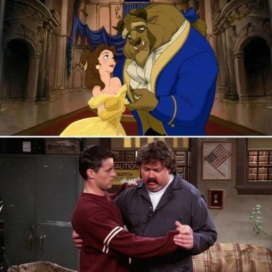 F.R.I.E.N.D.S. Vs. Disney