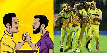 IPL 2018: CHENNAI SUPER KINGS VS KOLKATA KNIGHT RIDERS - MATCH PREVIEW