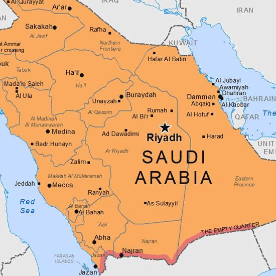 5. Saudi Arabia
