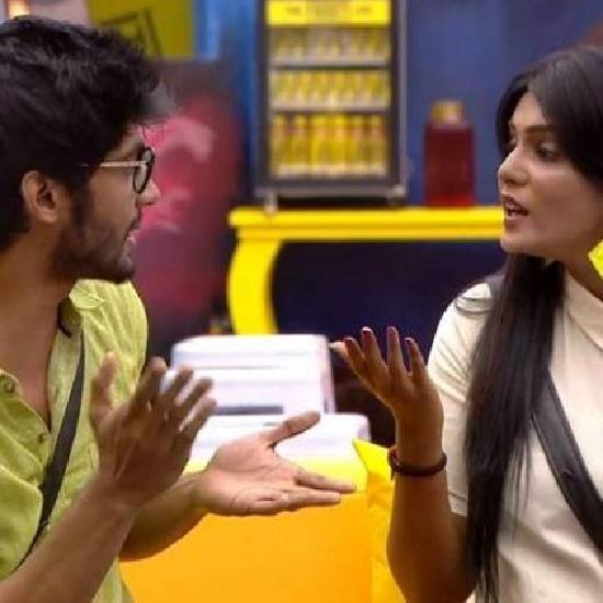 Bigg Boss 3 - Meera Mitun and Tharshan Thiyagarajah