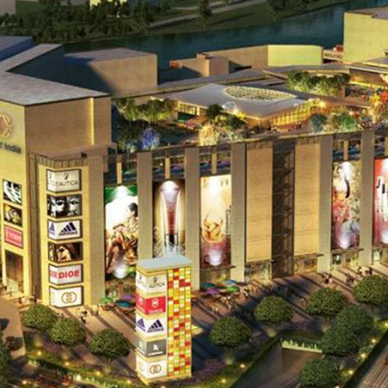 DLF Mall of India, Noida NCR, UP. > 2,000,000 sq ft