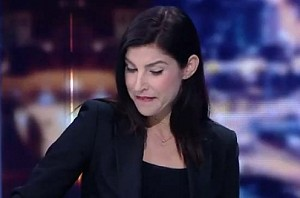 Anchor reads news of her channel's cancellation on air