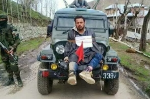 Army major was lying to save himself: Man who was tied to jeep