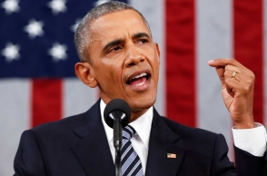 Barack Obama urges world to stand against 'aggressive nationalism'
