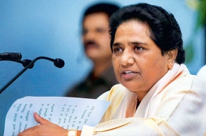 BJP can even murder democracy for power: Mayawati