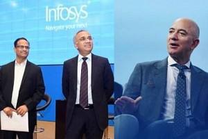 Amazon CEO Jeff Bezos Praises Indian IT Giant Infosys - Details!