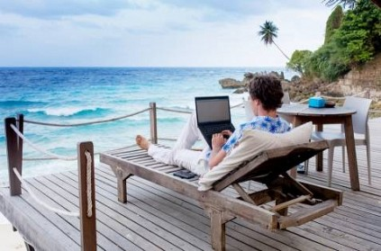 barbados to make work from home wfh an option for tourists report