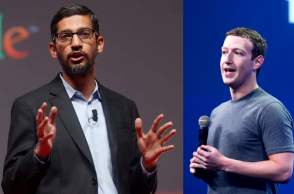 CEO's of Microsoft & Facebook speak against US President