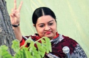 Deepa lays claim to AIADMK party symbol