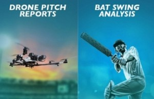 Drones for advanced pitch analysis at ICC Champions Trophy 2017