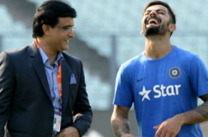 Ganguly praises Kohli for staying out of India Coach selection