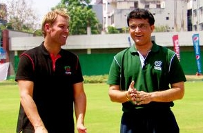 Ganguly, Warne bet on Eng-Aus Champions Trophy match