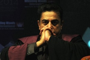 Hindu outfit members stage protest near Kamal Haasan's house