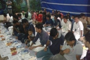 Hindu temple organises Iftar party for Muslims