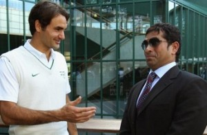 I choose Roger, Roger chooses me in video games: Sachin