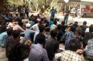 IIT Madras students stage protest against Sooraj attack