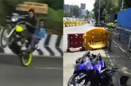 3 killed while performing stunts on motorcycle in bengaluru