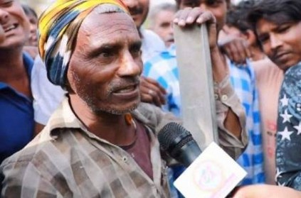 Bihar Labourer stuns Crowd By Talking In English: Watch Video