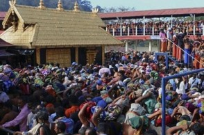 Bomb threat at Sabarimala temple