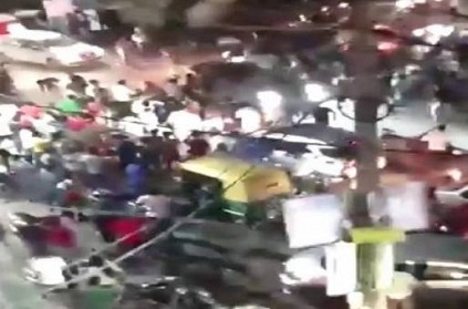 Car rams into crowd in Delhi, 1 injured; Video Goes Viral