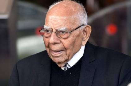 Former Union Law Minister Ram Jethmalani Passes Away at 95