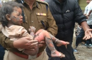 Girl child rescued from collapsed site in Bengaluru