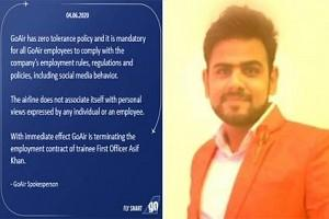 GoAir Pilot Removed from Job for 'Objectionable' Twitter Post! – Details