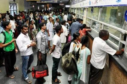 Railways Start Ticket Bookings at Reservation Counters - Details